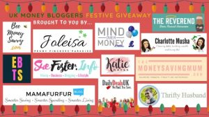 festive give away money bloggers 3