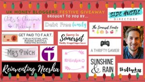 festive give away money bloggers 6