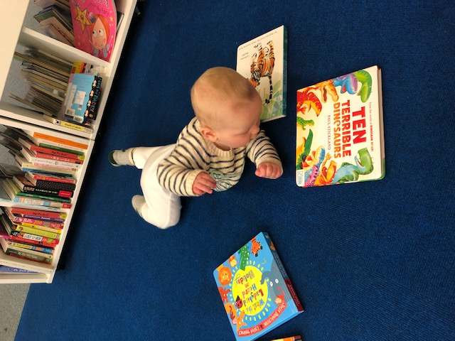 newmarket library reading to children is important