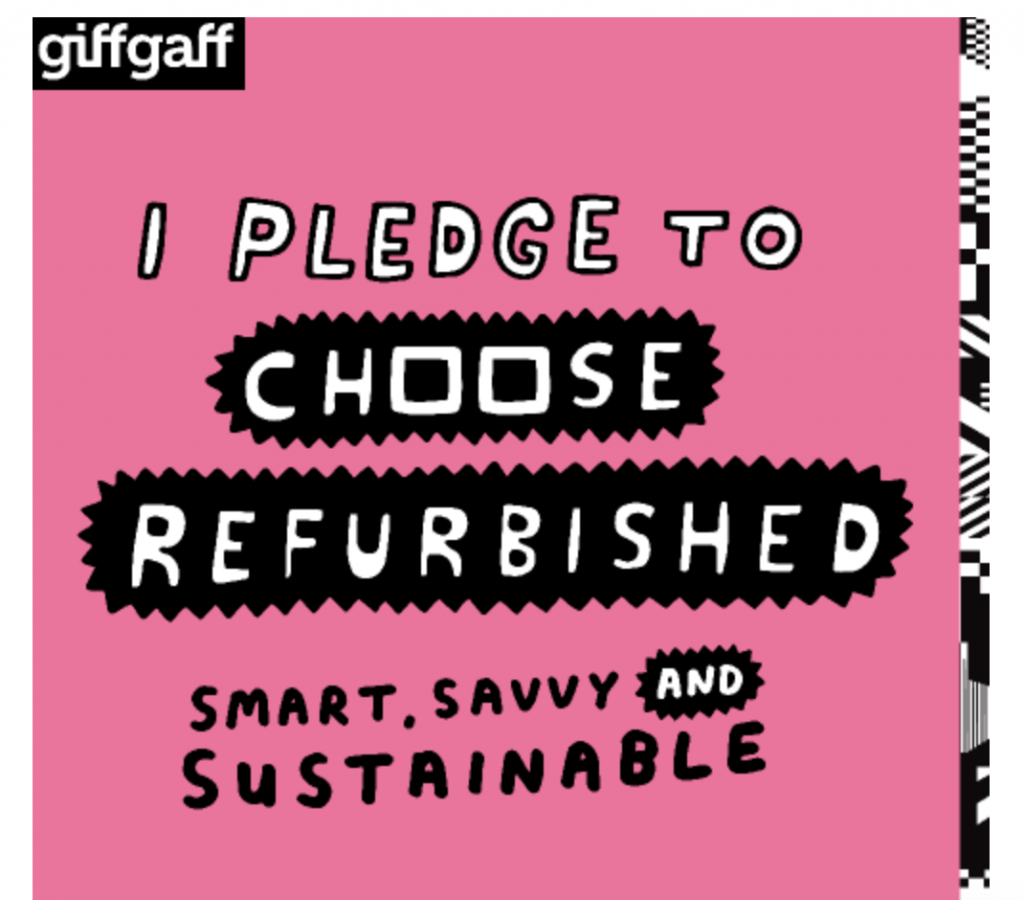 I pledge to choose refurbished